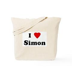 I Love Simon Tote Bag