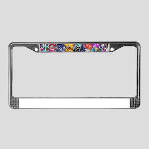 Calaveras Pequeñas License Plate Frame
