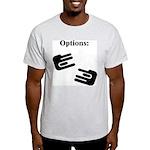 Options Ash Grey T-Shirt