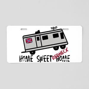 Home Sweet Redneck Home RV Aluminum License Plate