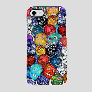 Calaveras Pequeñas iPhone 7 Tough Case