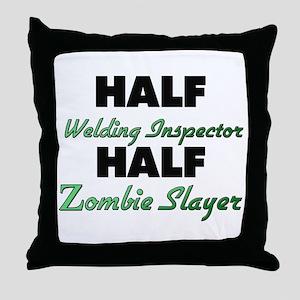 Half Welding Inspector Half Zombie Slayer Throw Pi