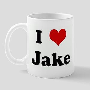 I Love Jake Mug
