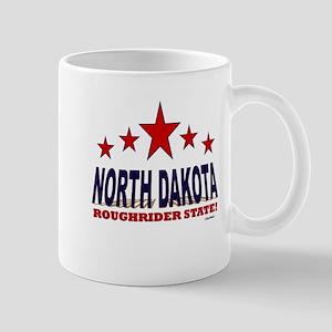 North Dakota Roughrider State Mug