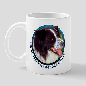 Border Collie Ask Mug