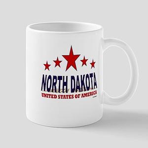 North Dakota U.S.A. Mug