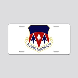 71st FTW Aluminum License Plate