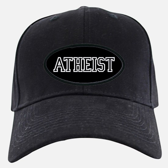 Atheist Hat (Black Cap)