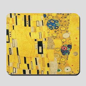 Klimt the Kiss Pattern Detail Mousepad