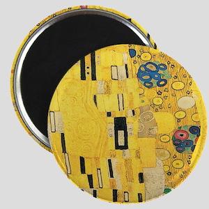 Klimt the Kiss Pattern Detail Magnet