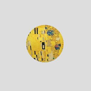 Klimt the Kiss Pattern Detail Mini Button