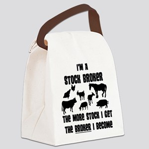 stock broker Canvas Lunch Bag