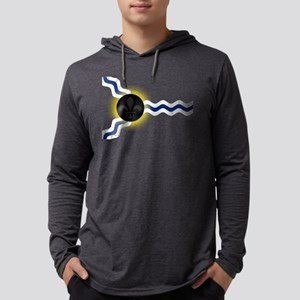 St Louis Total Solar Eclipse Mens Hooded Shirt