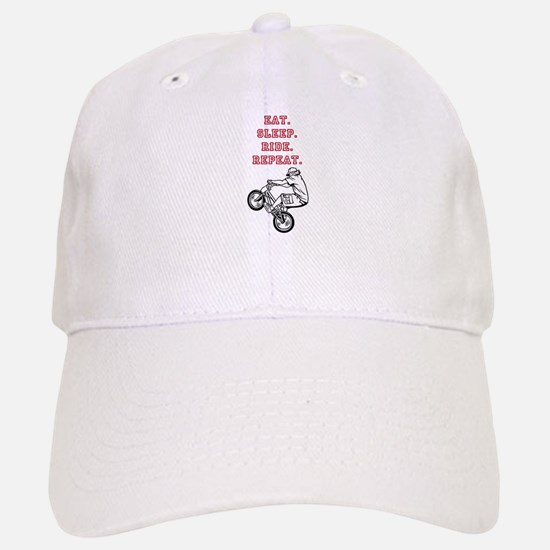 Eat, Sleep, Ride, Repeat Baseball Baseball Baseball Cap