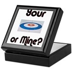 Your House or Mine? Keepsake Box