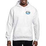 """Hooded Sweatshirt w/ """"Sun"""" Logo"""