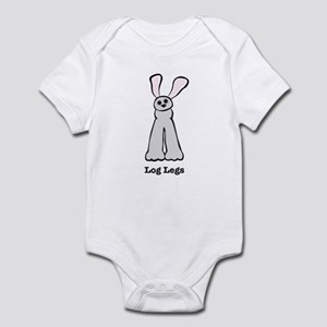Bunny Log Legs Infant Bodysuit