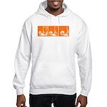 Orange Thrust Hooded Sweatshirt