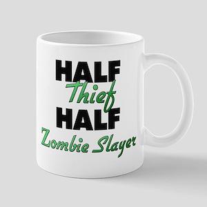 Half Thief Half Zombie Slayer Mugs