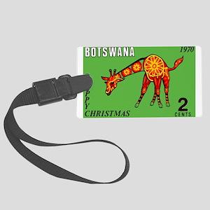 1970 Botswana Giraffe Christmas Postage Stamp Lugg