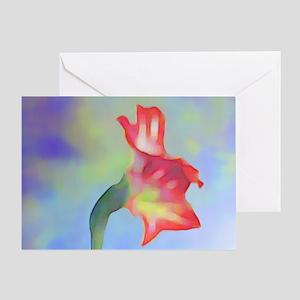 Amaryllis Dream Greeting Card