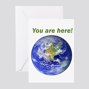You are here! Greeting Cards (Pk of 10)