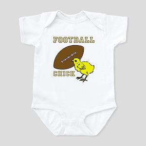 Football Chick Sports Fan Infant Bodysuit