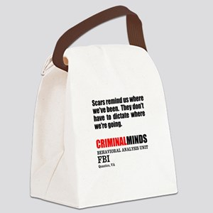 Scars Canvas Lunch Bag