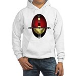 Red Spanish Rapier Hilt Hooded Sweatshirt
