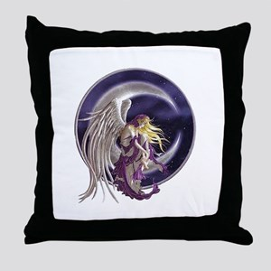 Midnight Sea Throw Pillow