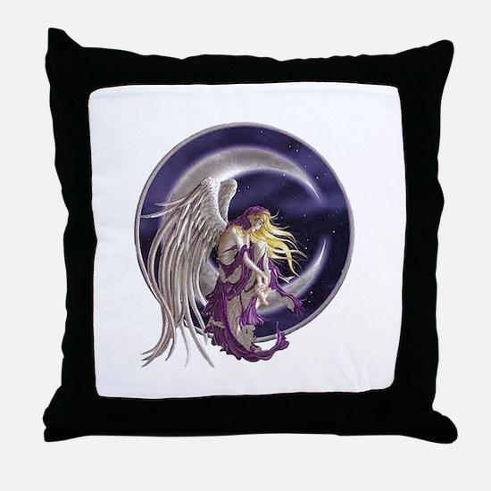 Midnight Sea Throw Pillow