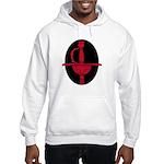 Red & Black Rapier Hooded Sweatshirt