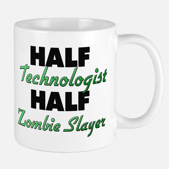 Half Technologist Half Zombie Slayer Mugs