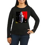 Templar Shield Women's Long Sleeve Dark T-Shirt