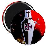 Templar Shield Magnet