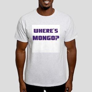 Where's Mongo? Ash Grey T-Shirt
