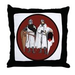 Crusaders Throw Pillow
