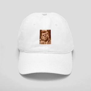 John F. Kennedy Sepia Tone Cap