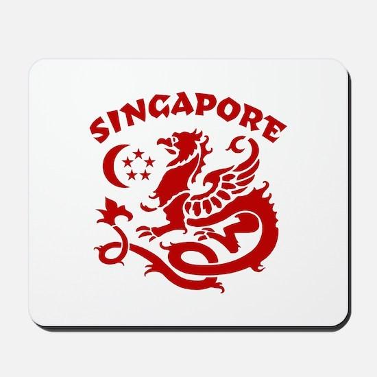 Singapore Dragon Mousepad