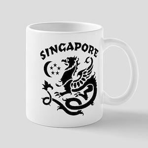 Singapore Dragon Mug