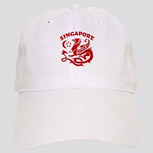 Singapore Dragon Cap