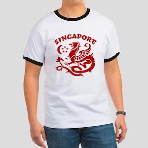 Singapore Dragon Ringer T