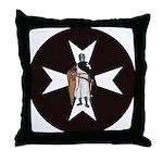 Knight Hospitaller Throw Pillow