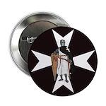 Knight Hospitaller Button