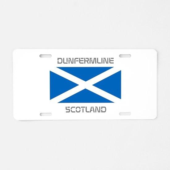 Dunfermline Scotland Aluminum License Plate