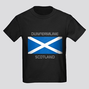 Dunfermline Scotland Kids Dark T-Shirt