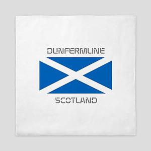 Dunfermline Scotland Queen Duvet