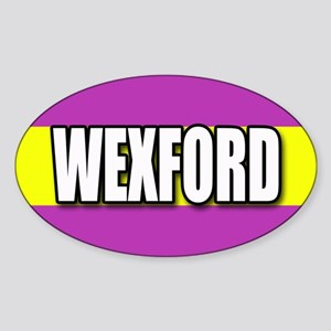 Wexford Oval Sticker