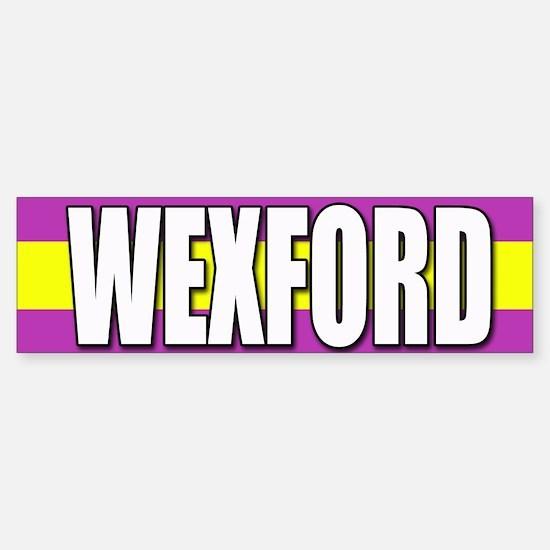 Wexford Bumper Car Car Sticker