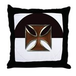 Templar Beauseant Throw Pillow